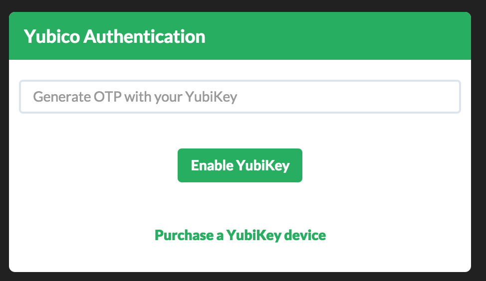 yubikey-not-active